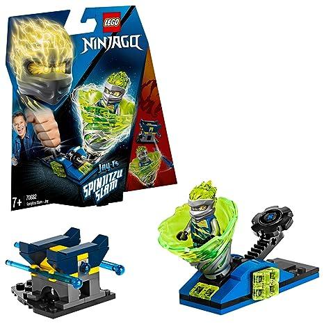 LEGO Ninjago - Spinjitzu Slam: Jay Peonza Ninja de Juguete para construir, Novedad 2019 (70682)