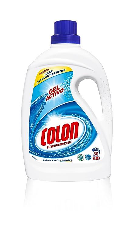 Colon Detergente liquido azul, 30 lavados - 1907 ml