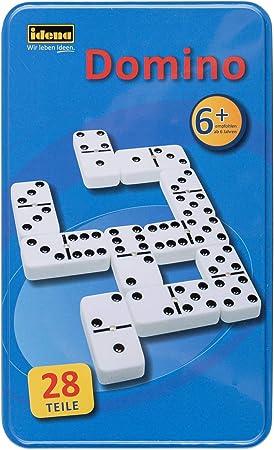 Idena - Dominó, 2 a 6 Jugadores (versión en alemán): Amazon.es: Juguetes y juegos