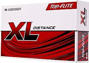 Top-Flite 2019 XL Distance Golf Balls – 15 Pack