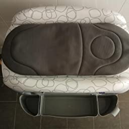 Chicco Cuddle&Bubble - Bañera cambiador compacta 2en1, 10 kg ...