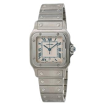 beb05a2ff6c1 Cartier Santos Galbee Quartz Mens Watch 1564 (Certified Pre-Owned)  Cartier   Amazon.co.uk  Watches