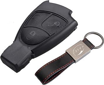 Schlüssel Gehäuse Fernbedienung Für Mercedes 3 Tasten Elektronik