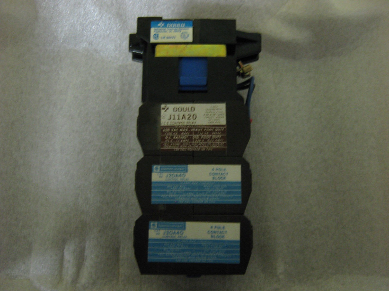 Ite Gould Control Relay, J11A8212, in box