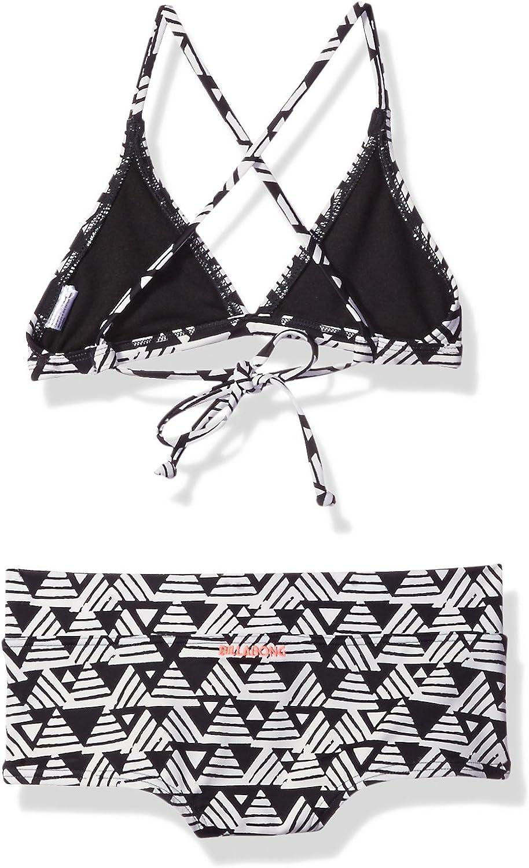 Billabong Girls Geo Delight Tri Set Swim Suit