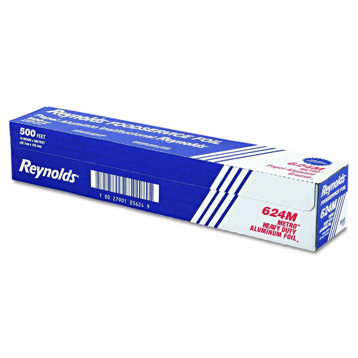 Reynolds Wrap 624M Metro Aluminum Foil Roll, Lighter Gauge Standard, 18