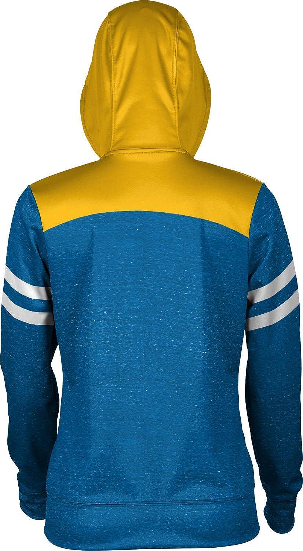 School Spirit Sweatshirt State University of New York at Fredonia College Girls Zipper Hoodie Gameday