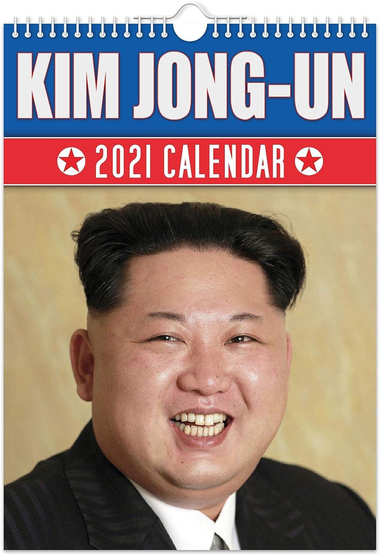 Kim Jong Un   2021 Wall Calendar // Funny/Quirky/Christmas