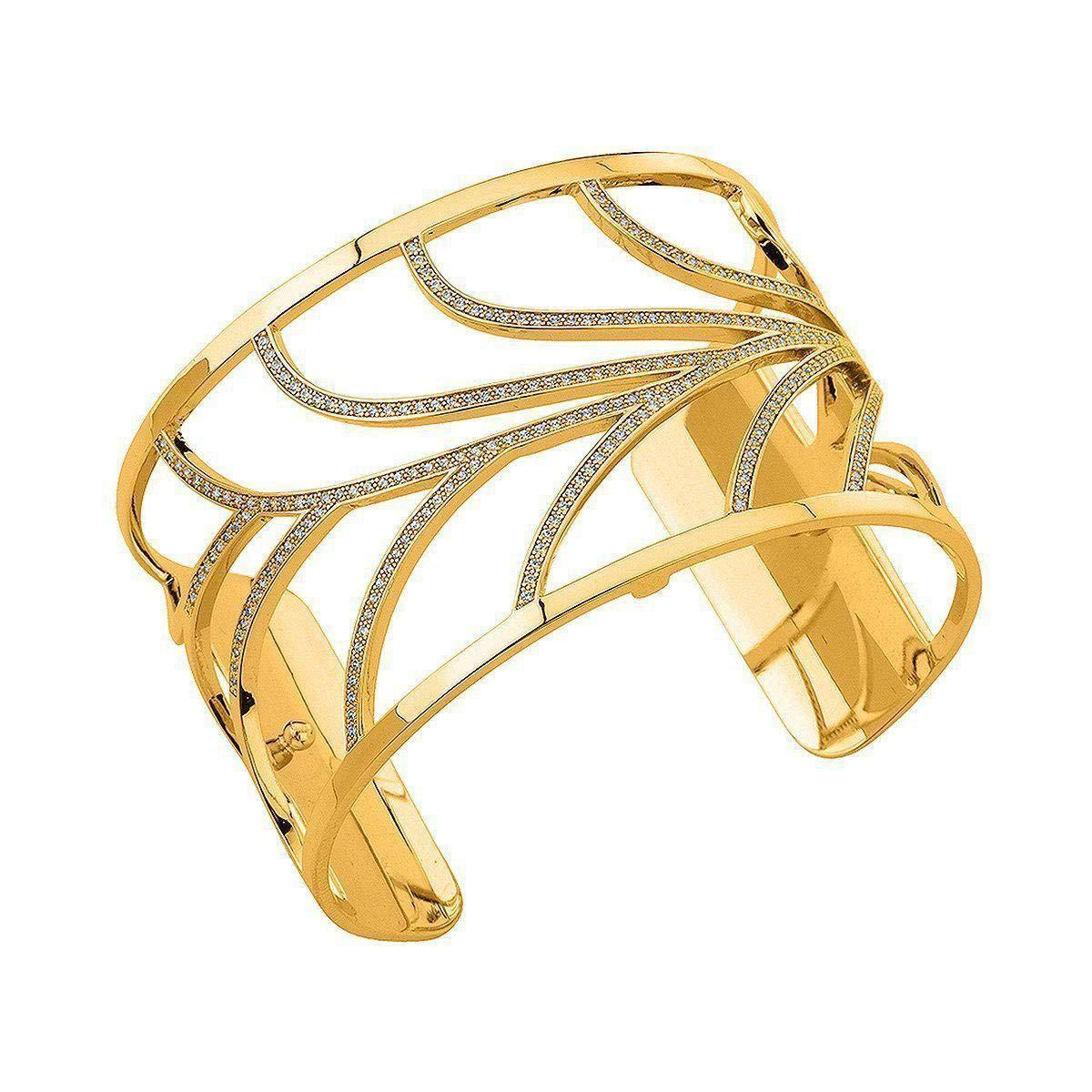 Les Georgette Courbe Precious 40mm Cuff in Gold