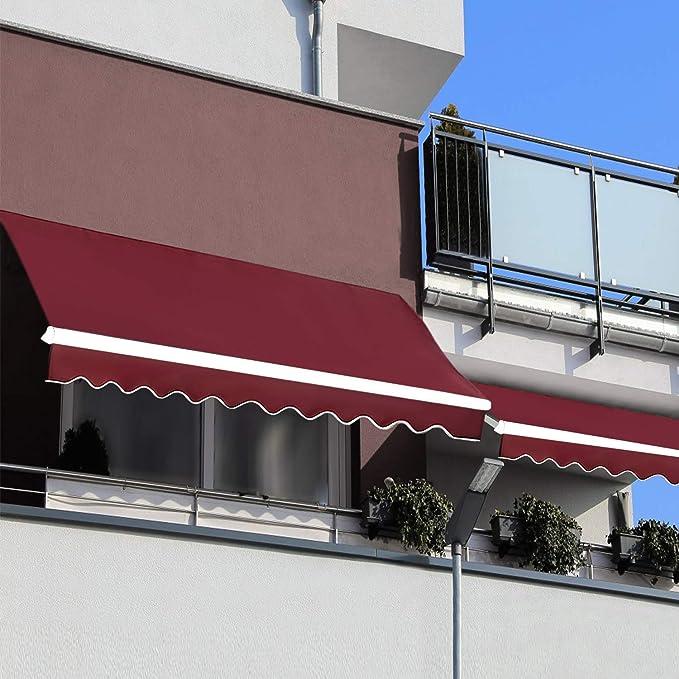 Amazon.com: JOO LIFE - toldo retráctil para ventana/puerta ...
