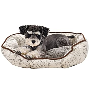 Speedy Pet - Cama Ovalada para Mascotas, Estilo Vintage (S): Amazon.es: Productos para mascotas