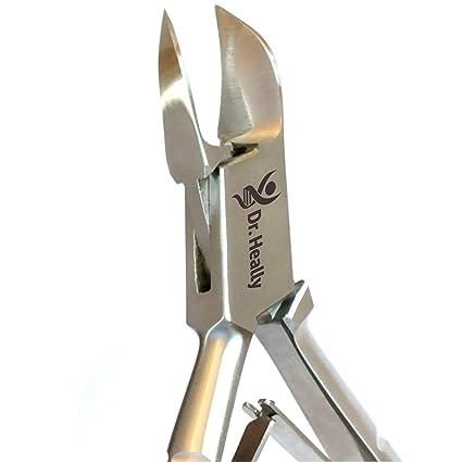 Cortauñas para uñas gruesas de acero inoxidable para personas mayores, cortaúñas, cortaúñas, cortaúñas, medias, profesionales, tijeras para hombres, ...
