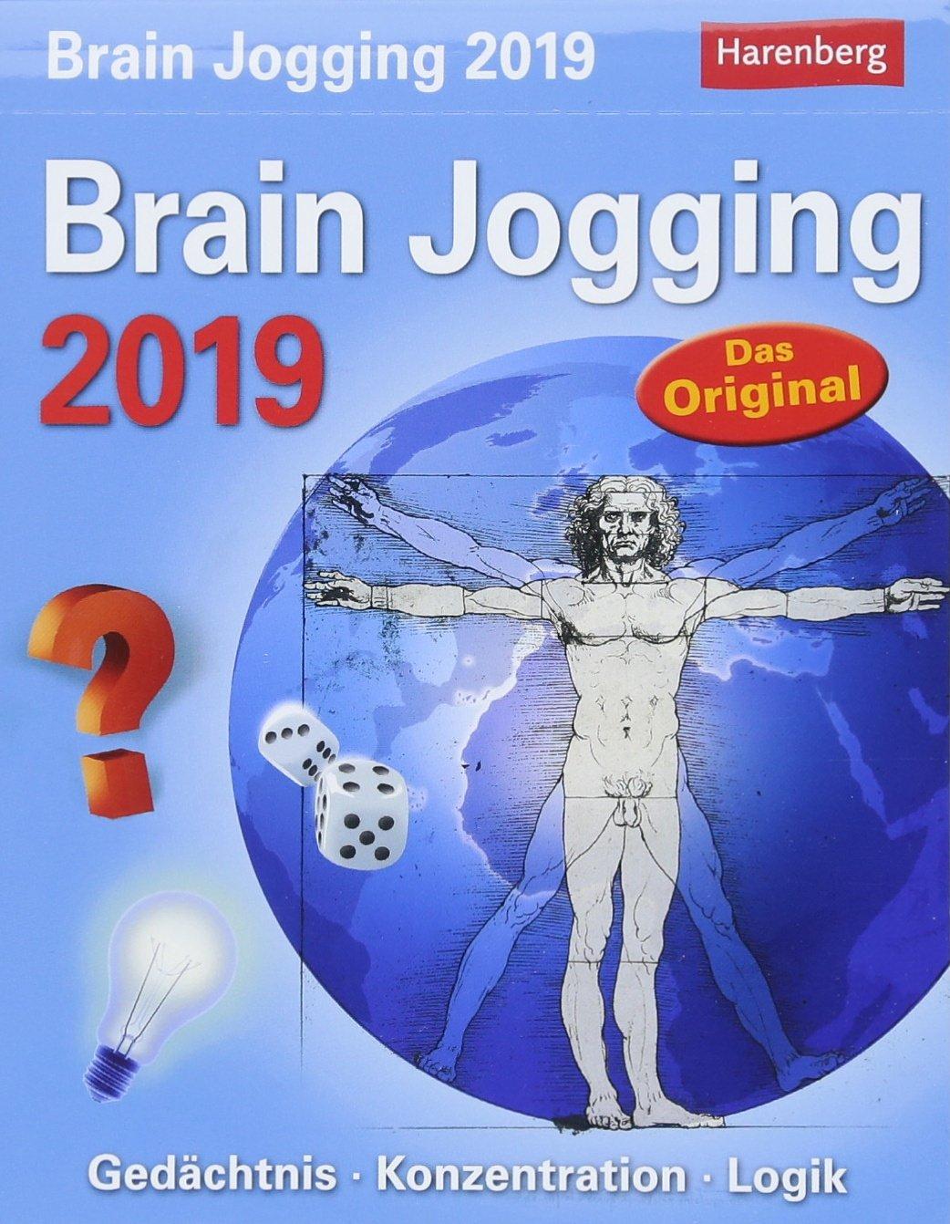 Brain Jogging   Kalender 2019  Gedächtnis Konzentration Logik