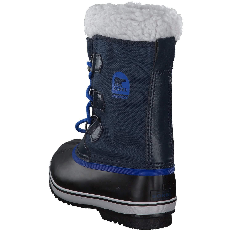 Sorel Yoot Pac Nylon Boot - Boys' Collegiate Navy/Super Blue, 6.0 by Sorel (Image #4)