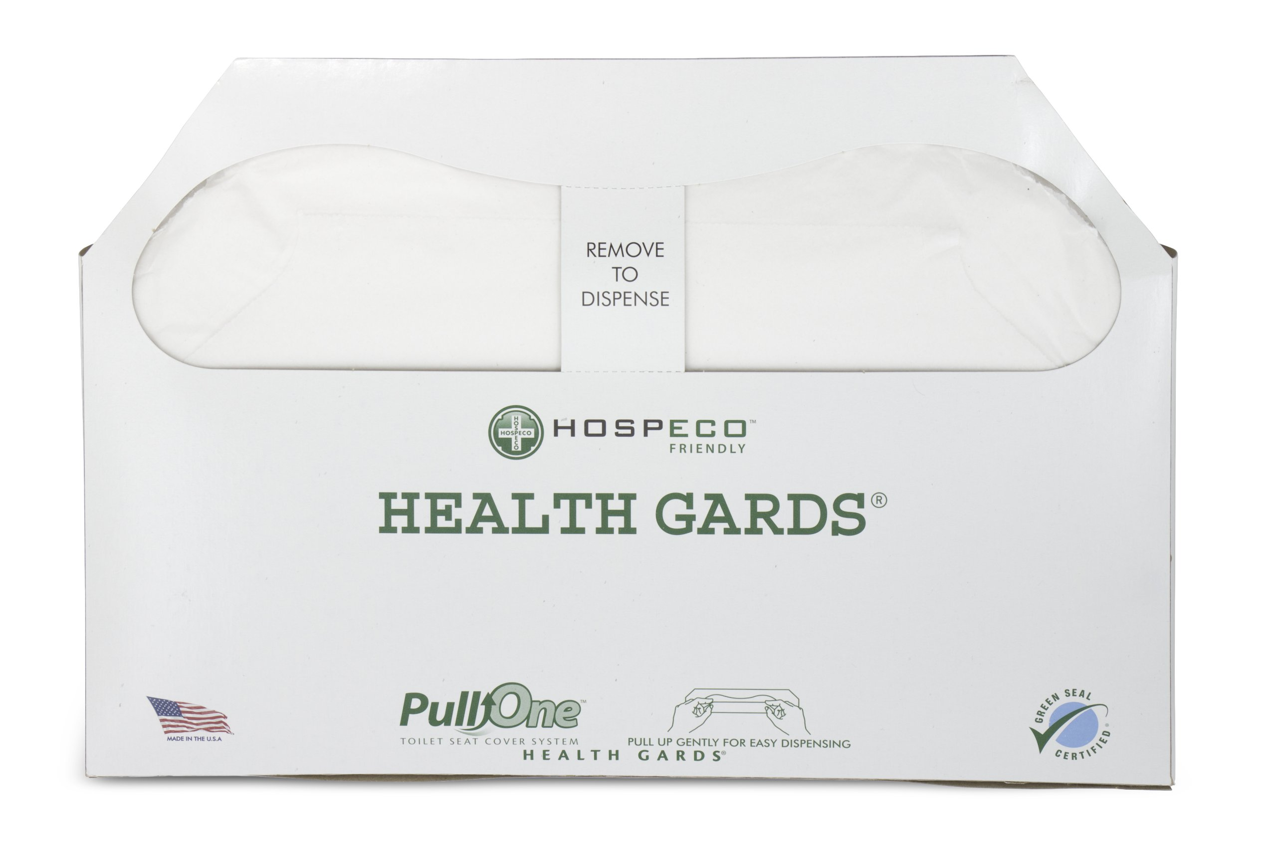 Health Gards PullOne Toilet Seat Covers HG3000B Count of 3000, (Pack of 5)