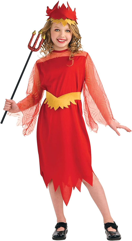 Disfraz de Reina Diablesa para niña, infantil 5-7 años (Rubies ...