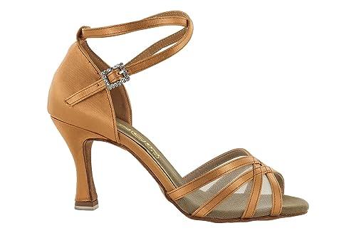 wholesale dealer 5c018 e99b2 Scarpa da Ballo Donna Rete Raso Flesh TC cm 7,5: Amazon.it ...