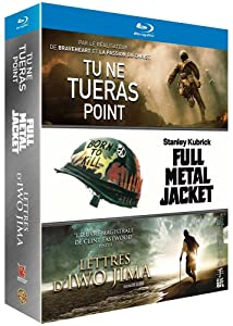 Tu ne tueras point + Lettres d'Iwo Jima + Full Metal Jacket [Francia] [Blu-ray]
