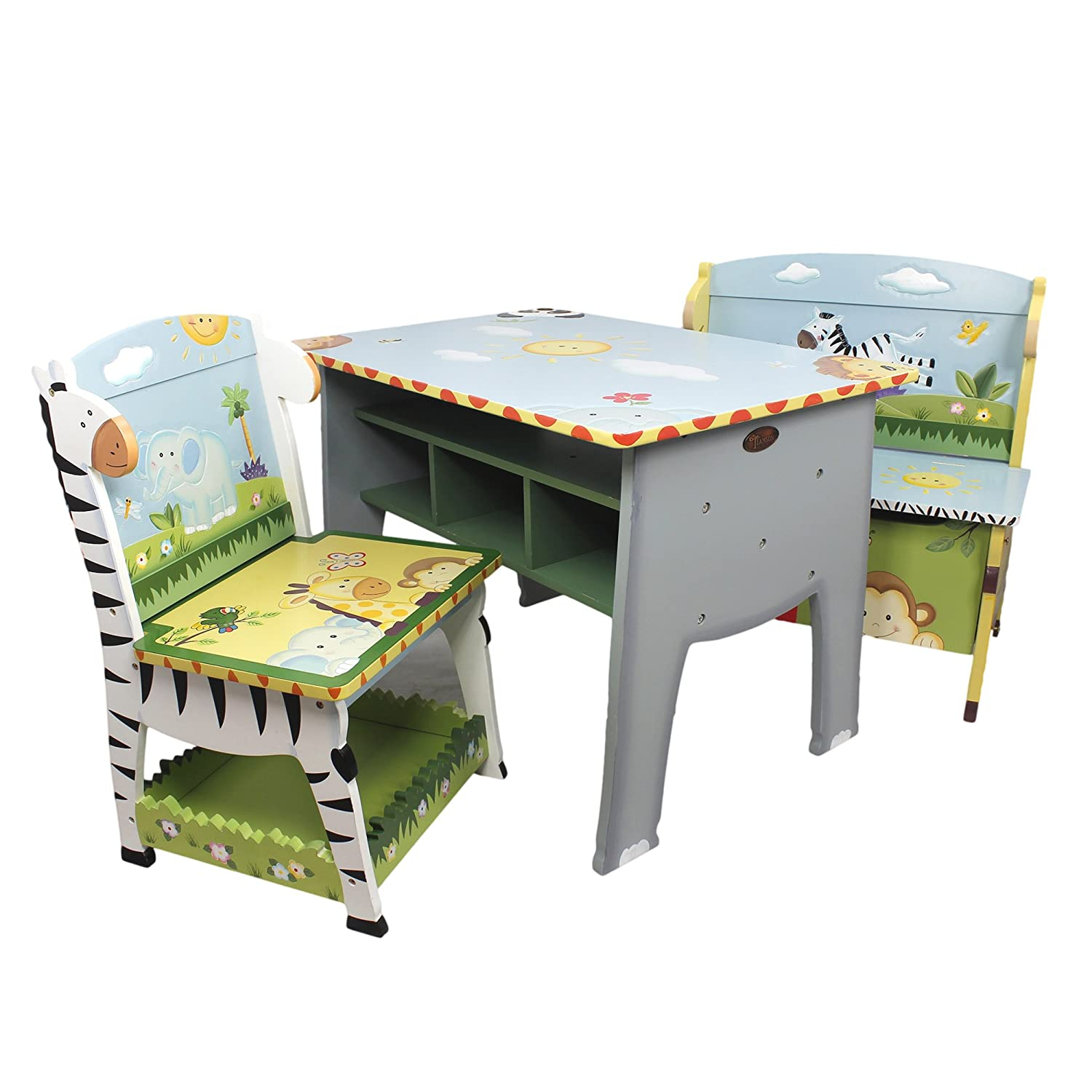 kids desk study youth genius chair soft toddler childrens wooden childs top great and table