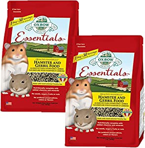 Oxbow Animal Health Hamster and Gerbil Fortified Food