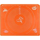 Extra Large Reusable Non-stick Silicone Baking Mat/Pad with Measurements , Pastry Rolling Mat, Non Slip,Pizza,Breads,Lasagna,and other Recipes & Desserts