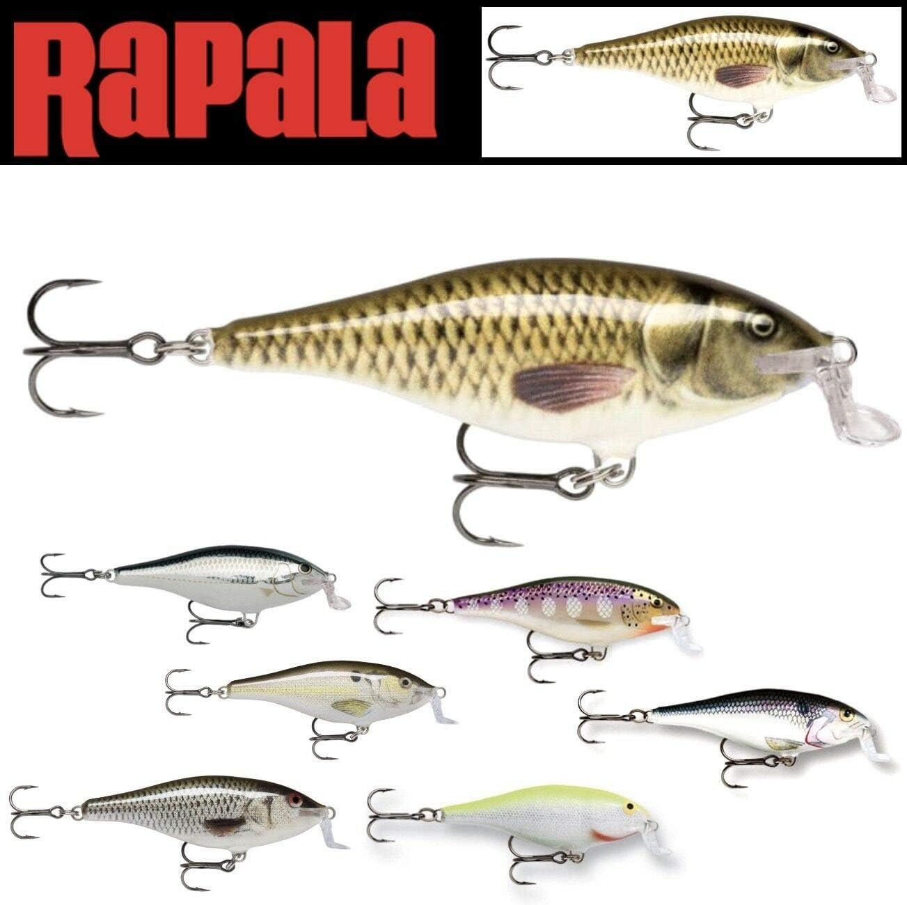 Rapala Shallow Shad Rap 07 Fishing Lure Silver