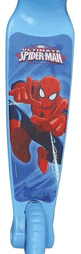 Mondo 18395 - Ultimate Spiderman Twist & roll, patinete 2 ruedas delanteras