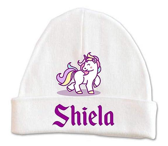 06b8425e491b9 Amazon.com  Cute Unicorn Baby Beanie Hat Girls Winter Kids Warm ...