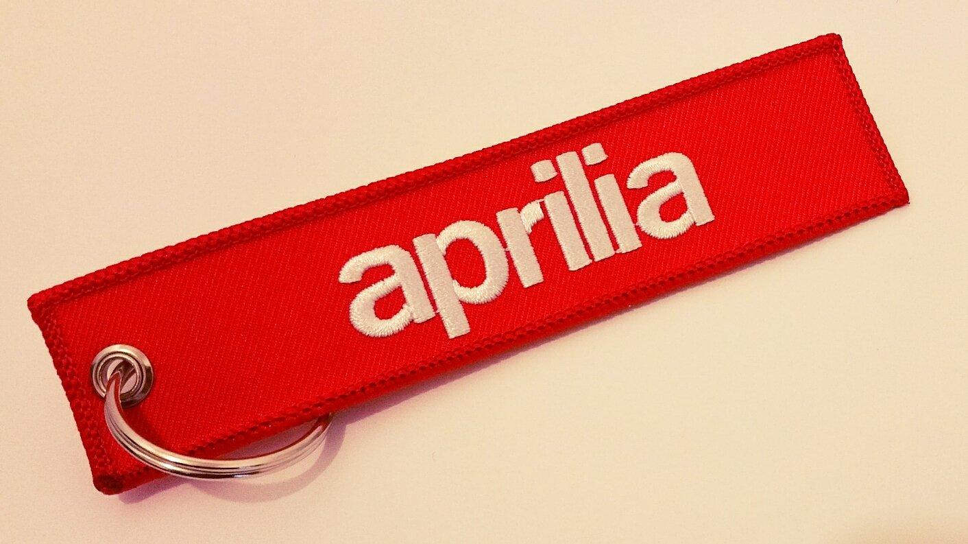 Custom Tags - Llavero de Aprilia: Amazon.es: Coche y moto