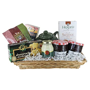 Amazon.com : Irish Tea Gift Basket : Grocery & Gourmet Food