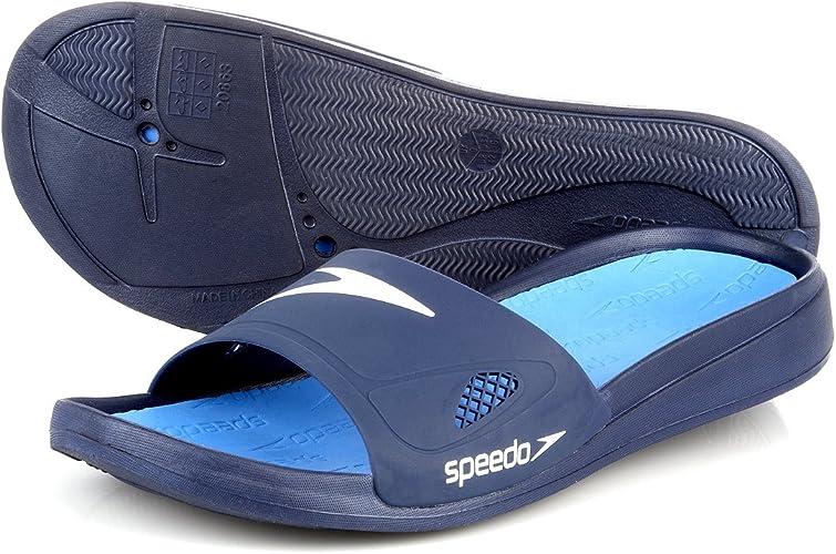 Peregrino tengo hambre Intuición  Speedo Shirahama Slide - Chanclas de Goma eva para Hombre Negro  Negro/Gris/Blanco: Amazon.es: Zapatos y complementos