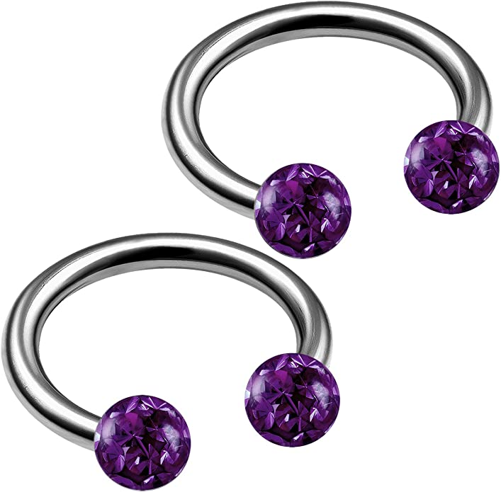 16g Tiny Barbell Cartilage Ear Piercing 4mm 6mm 8mm High Quality G23 Titanium Body Jewellery