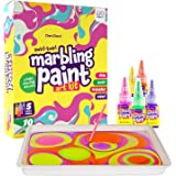 Dan&Darci Marbling Paint Art Kit for Kids - Arts and Crafts for Girls & Boys Ages 6-12 - Craft Kits Art Set - Best Tween…