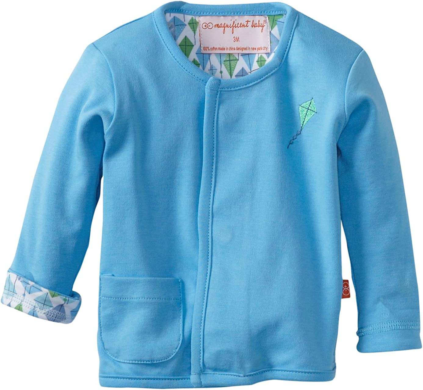 Magnificent Baby Baby-Boys Newborn Reversible Cardigan