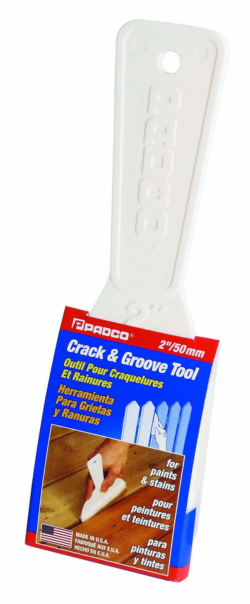 Padco 3738 Crack and Groove Tool, 2-Inch