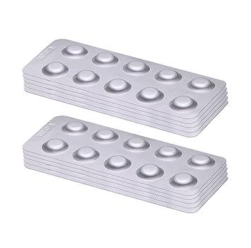 Lovibond – Pastillas de prueba, 100 unidades, 50 pastillas de reactivo rojo fenol para el pH y 50 pastillas DPD1 para medir el cloro libre: Amazon.es: ...