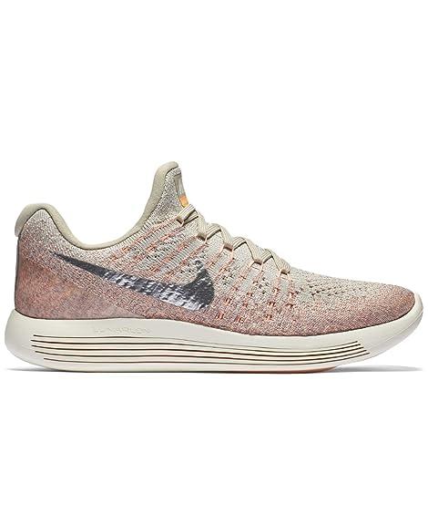Nike Women's Lunarepic Low Flyknit, Grey, Size 7.0