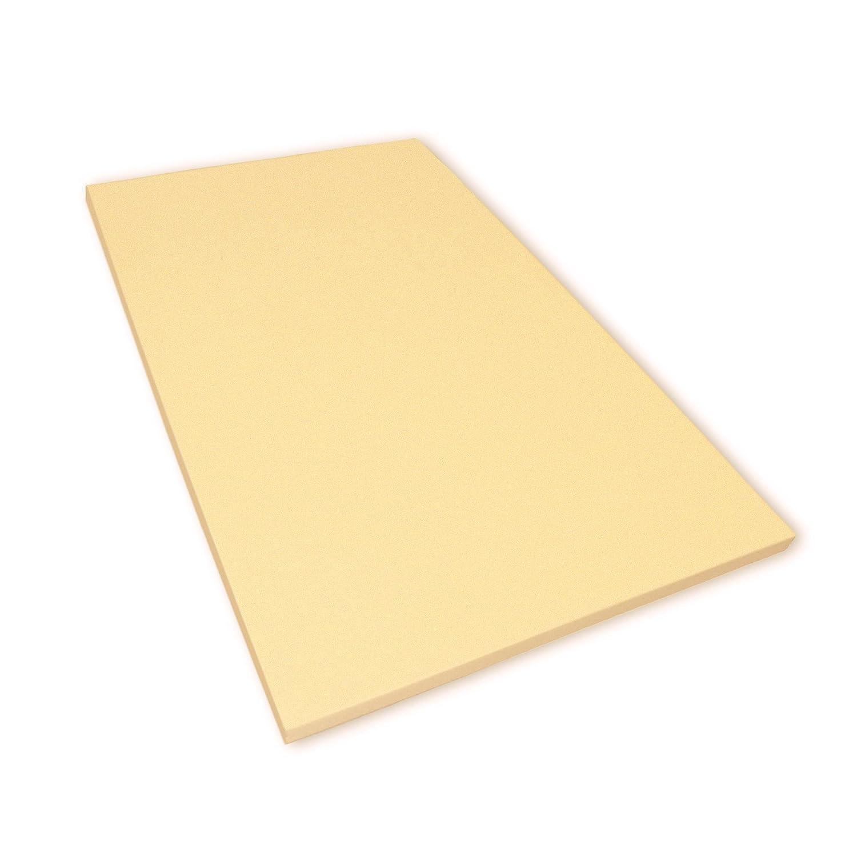 Viscoelastische Matratzenauflage 4 cm Visco Matratzen - Auflage ohne Bezug - Grösse 90x200