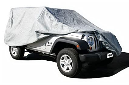 Amazon Com Rampage Products 1203 4 Layer Breathable Full Car Cover