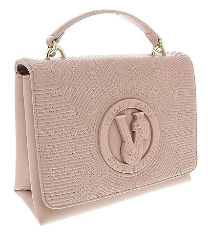 59888bf87 Amazon.com: Versace Light Pink Shoulder Bag-EE1VTBBM3 E400 for Womens: Shoes