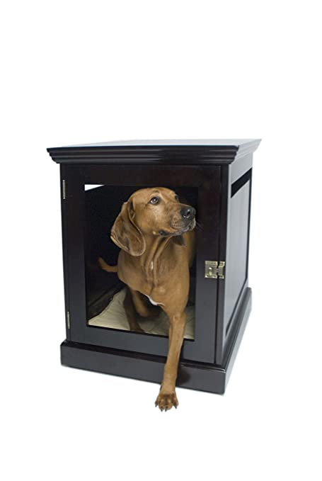 furniture denhaus wood dog crates. amazoncom denhaus townhaus indoor wood dog crate house end table furniture bed mahogany large pet supplies denhaus crates n