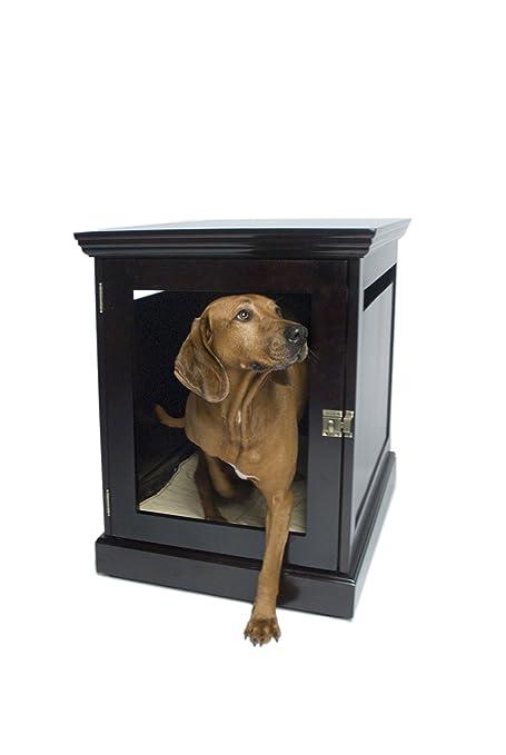 furniture denhaus wood dog crates. amazoncom denhaus townhaus indoor wood dog crate house end table furniture bed mahogany large pet supplies denhaus crates n