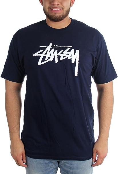 Maglietta Stussy Uomo Blu LAmazon itAbbigliamento Da Navy PXOiukZ