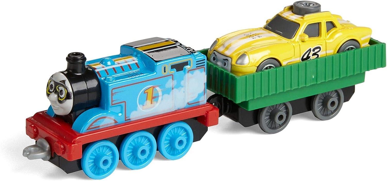 Thomas & Friends- Cars Friends Adventures-Thomas and Ace The Racer-Juguete de fundición, Multicolor (Mattel FJP55) , color/modelo surtido