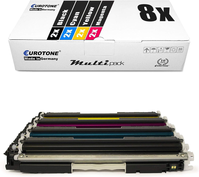 Eurotone Patrone BLACK für HP LaserJet Pro 100 Color MFP M-175-b MFP M-175-q