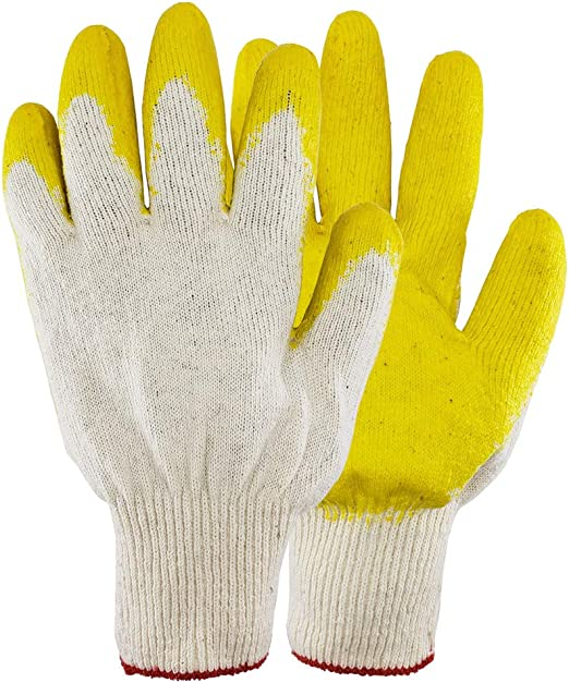300 Pairs Nitrile coat Palm Work Gloves