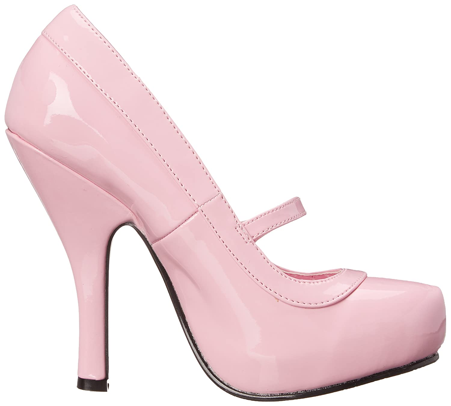 Pleaser Cutie02/bppt, Damen Pumps, Rosa (Baby Pink), 36 EU (3 UK)