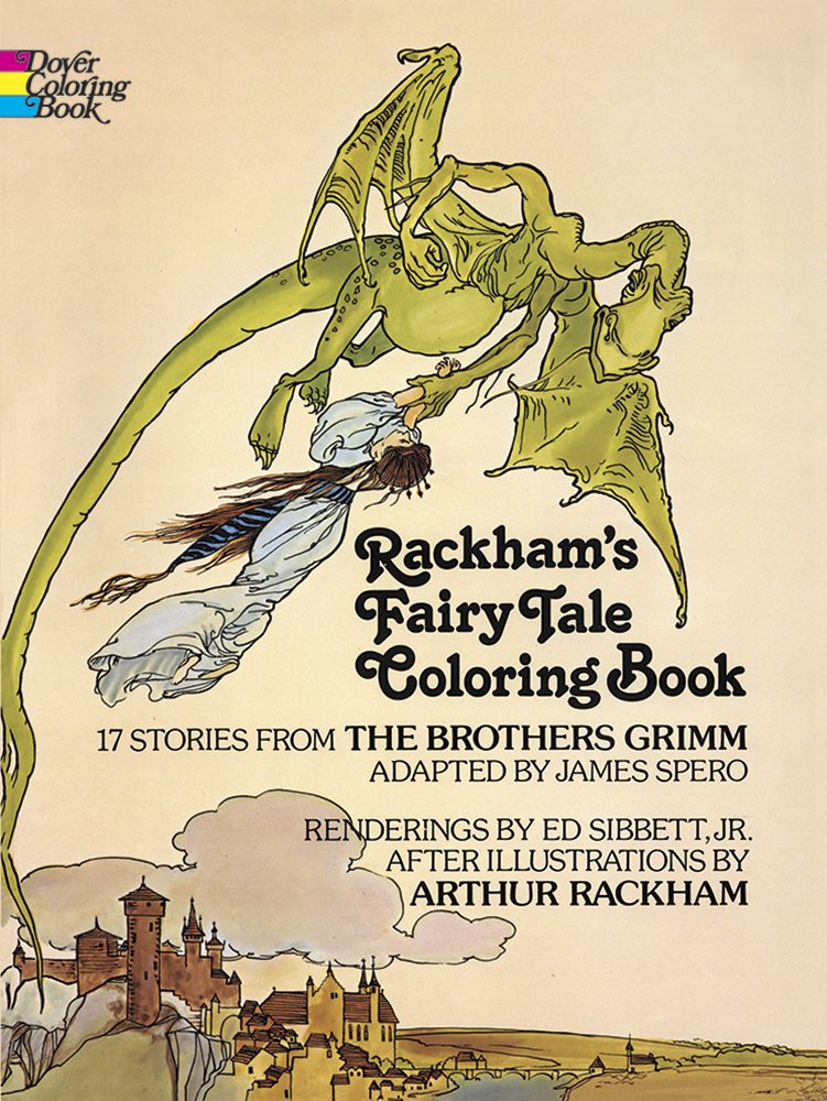 Rackham\'s Fairy Tale Coloring Book (Dover Classic Stories ...