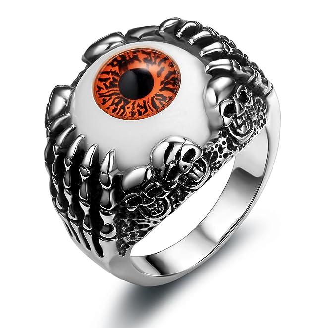 0eaf19126e61a4 Opinioni per JewelryWe Gioielli anello da uomo donna acciaio