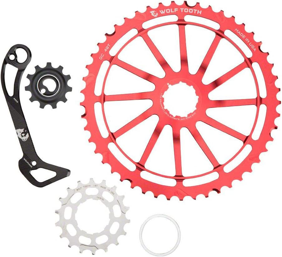 11-Speed Wolf Tooth WolfCage and GC49 Kit for Shimano